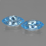 thumb image of 6.6ct Marquise Facet Sky Blue Topaz (ID: 455396)