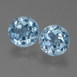 thumb image of 4.7ct Round Facet Sky Blue Topaz (ID: 455409)