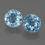 thumb image of 4.5ct Round Facet Sky Blue Topaz (ID: 455411)