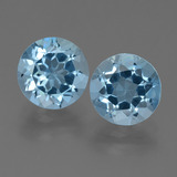 thumb image of 4.7ct Round Facet Sky Blue Topaz (ID: 455412)