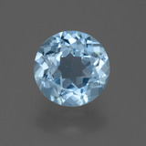 thumb image of 2.2ct Round Facet Sky Blue Topaz (ID: 455442)