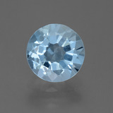 thumb image of 2.2ct Round Facet Sky Blue Topaz (ID: 455444)