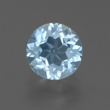 thumb image of 2.4ct Round Facet Sky Blue Topaz (ID: 455446)