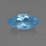 thumb image of 3.8ct Marquise Facet Sky Blue Topaz (ID: 455485)