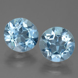 thumb image of 4.3ct Round Facet Sky Blue Topaz (ID: 455510)