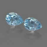 thumb image of 1.7ct Pear Facet Sky Blue Topaz (ID: 455538)