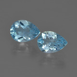 thumb image of 1.7ct Pear Facet Sky Blue Topaz (ID: 455541)