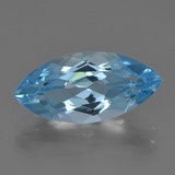 thumb image of 3.8ct Marquise Facet Sky Blue Topaz (ID: 455567)