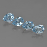 thumb image of 0.9ct Pear Facet Sky Blue Topaz (ID: 455607)