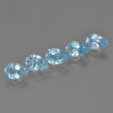 thumb image of 2.8ct Pear Facet Sky Blue Topaz (ID: 455640)