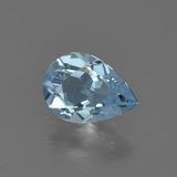 thumb image of 0.7ct Pear Facet Sky Blue Topaz (ID: 455728)