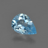 thumb image of 0.8ct Pear Facet Sky Blue Topaz (ID: 455731)