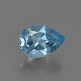 thumb image of 0.9ct Pear Facet Sky Blue Topaz (ID: 455732)