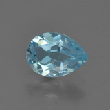 thumb image of 0.8ct Pear Facet Sky Blue Topaz (ID: 455736)