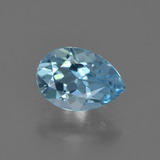 thumb image of 0.8ct Pear Facet Sky Blue Topaz (ID: 455737)