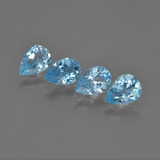 thumb image of 2.9ct Pear Facet Sky Blue Topaz (ID: 455755)