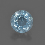 thumb image of 2.2ct Round Facet Sky Blue Topaz (ID: 455801)