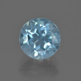thumb image of 2.6ct Round Facet Sky Blue Topaz (ID: 455807)