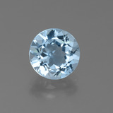 thumb image of 2.4ct Round Facet Sky Blue Topaz (ID: 455843)