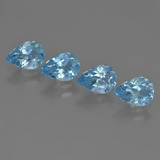 thumb image of 3ct Pear Facet Sky Blue Topaz (ID: 455874)