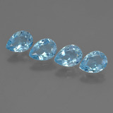 thumb image of 3.4ct Pear Facet Sky Blue Topaz (ID: 455882)