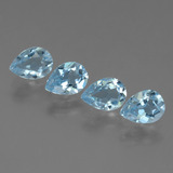 thumb image of 3.4ct Pear Facet Sky Blue Topaz (ID: 455915)