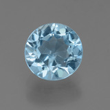 thumb image of 2.4ct Round Facet Sky Blue Topaz (ID: 455944)