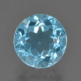 thumb image of 2.6ct Faceta Redonda Azul Cielo Topacio (ID: 455965)