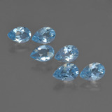 thumb image of 2.9ct Pear Facet Sky Blue Topaz (ID: 455991)