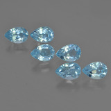 thumb image of 3.2ct Pear Facet Sky Blue Topaz (ID: 455997)