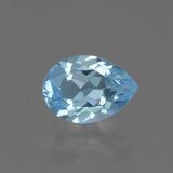 thumb image of 0.8ct Pear Facet Sky Blue Topaz (ID: 456008)