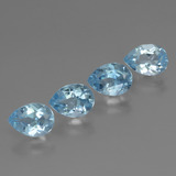 thumb image of 3.5ct Pear Facet Sky Blue Topaz (ID: 456366)
