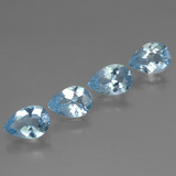 thumb image of 3.1ct Pear Facet Sky Blue Topaz (ID: 456370)