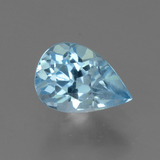thumb image of 0.9ct Pear Facet Sky Blue Topaz (ID: 456585)