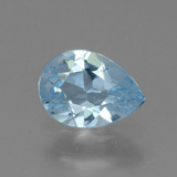 thumb image of 0.7ct Pear Facet Sky Blue Topaz (ID: 456586)