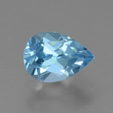 thumb image of 0.9ct Pear Facet Sky Blue Topaz (ID: 456587)