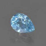 thumb image of 0.7ct Pear Facet Sky Blue Topaz (ID: 456752)