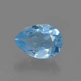 thumb image of 0.8ct Pear Facet Sky Blue Topaz (ID: 456753)
