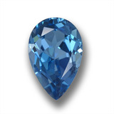 thumb image of 3.7ct Pear Facet London Blue Topaz (ID: 458814)