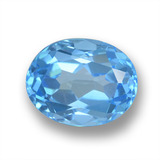 thumb image of 2.5ct Oval Facet Sky Blue Topaz (ID: 459363)