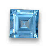 thumb image of 1.8ct Square Step-Cut Sky Blue Topaz (ID: 461420)