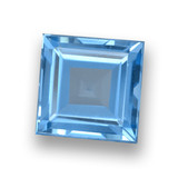 thumb image of 1.7ct Square Step-Cut Sky Blue Topaz (ID: 461434)