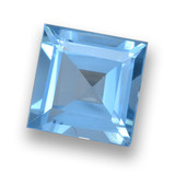 thumb image of 1.9ct Square Step-Cut Sky Blue Topaz (ID: 461436)