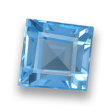 thumb image of 2.3ct Square Step-Cut Sky Blue Topaz (ID: 461442)