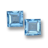 thumb image of 4ct Square Step-Cut Sky Blue Topaz (ID: 461473)