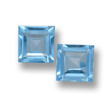 thumb image of 3.6ct Square Step-Cut Sky Blue Topaz (ID: 461480)