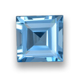thumb image of 1.8ct Square Step-Cut Sky Blue Topaz (ID: 461505)
