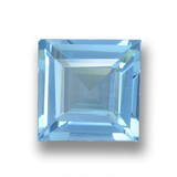thumb image of 1.7ct Square Step-Cut Sky Blue Topaz (ID: 461547)