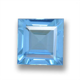 thumb image of 1.8ct Square Step-Cut Sky Blue Topaz (ID: 461594)