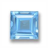 thumb image of 2ct Square Step-Cut Sky Blue Topaz (ID: 461596)
